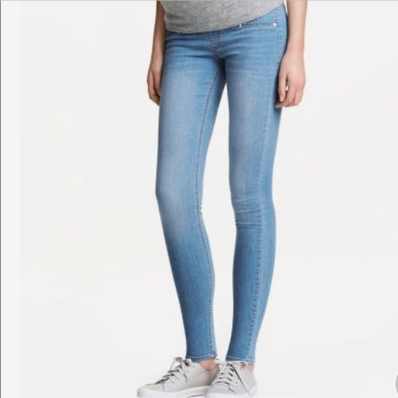 db55b35d450d3 H&M Jeans | Mama Maternity Super Skinny High Rib | Poshmark